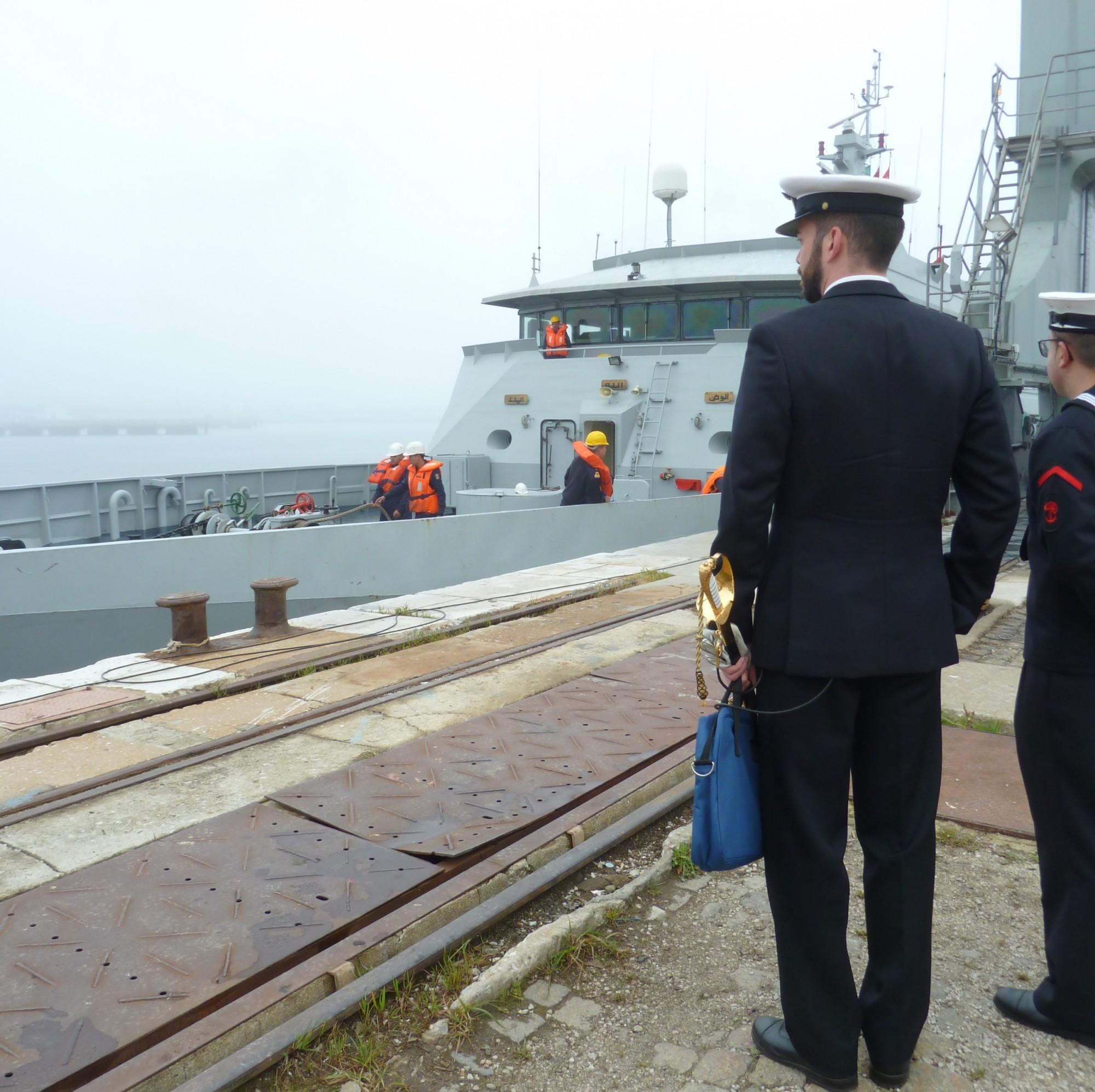 Réparation et Modernisation des navires de la MRM au Portugal - Page 2 Misc177