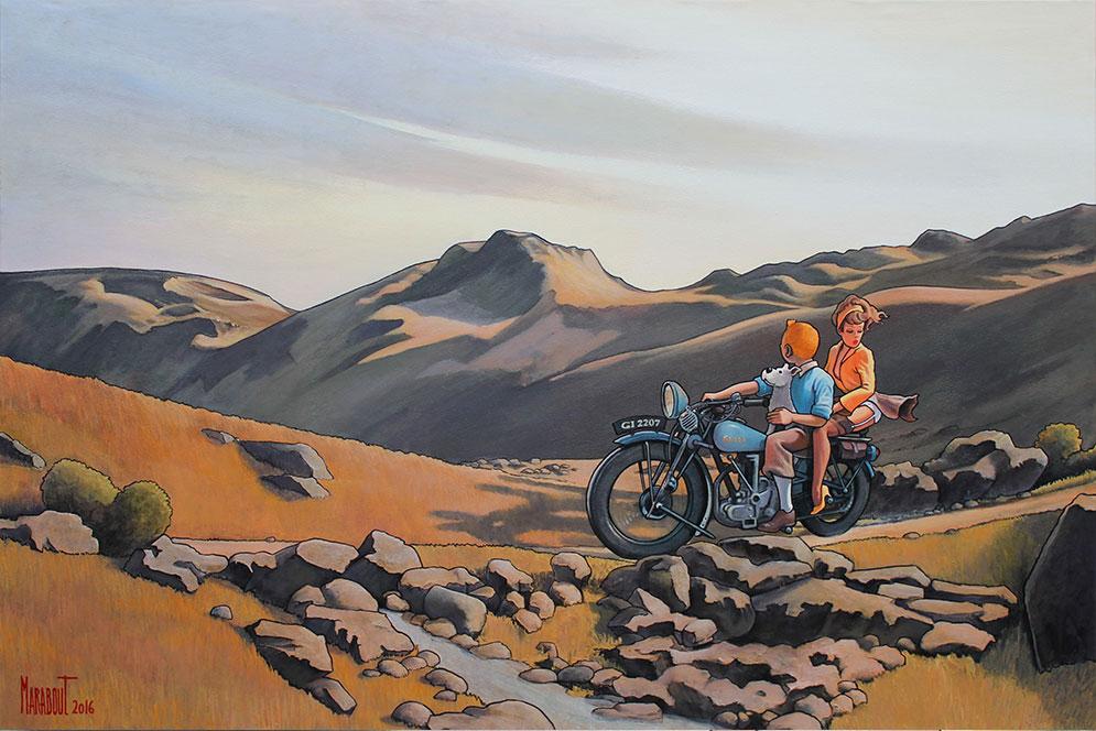 Tintín - Página 14 En-motocyclette-dans-le-vermont