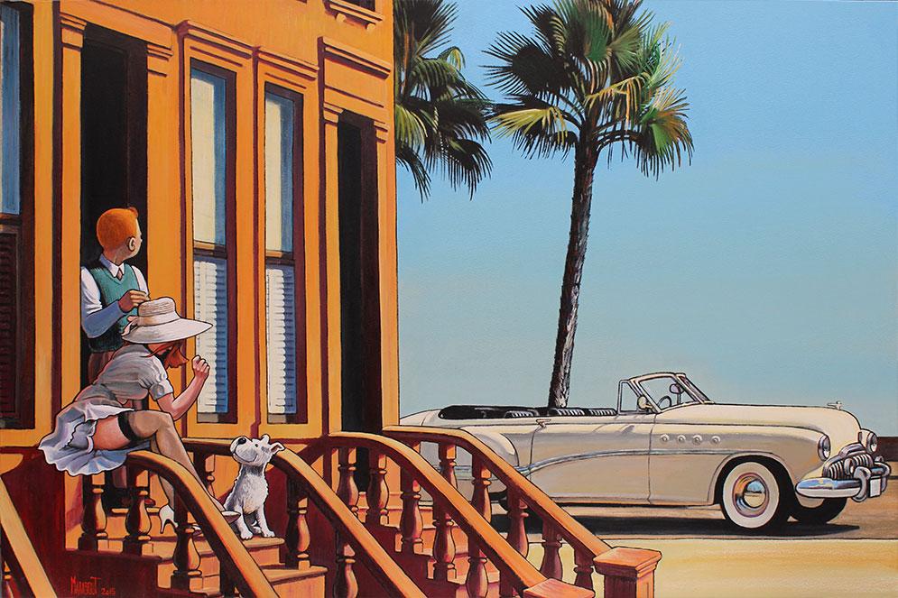 Tintín - Página 14 Vacances-en-buick-roadmaster