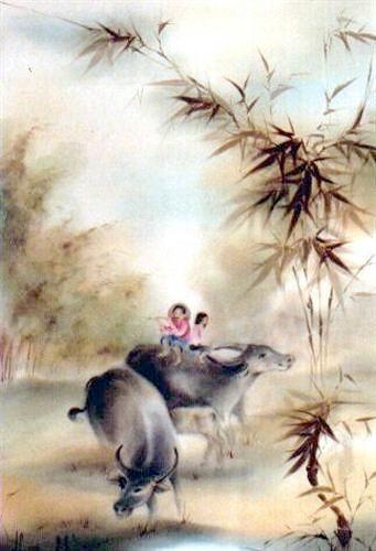 Tranh Lụa Việt nam 1t