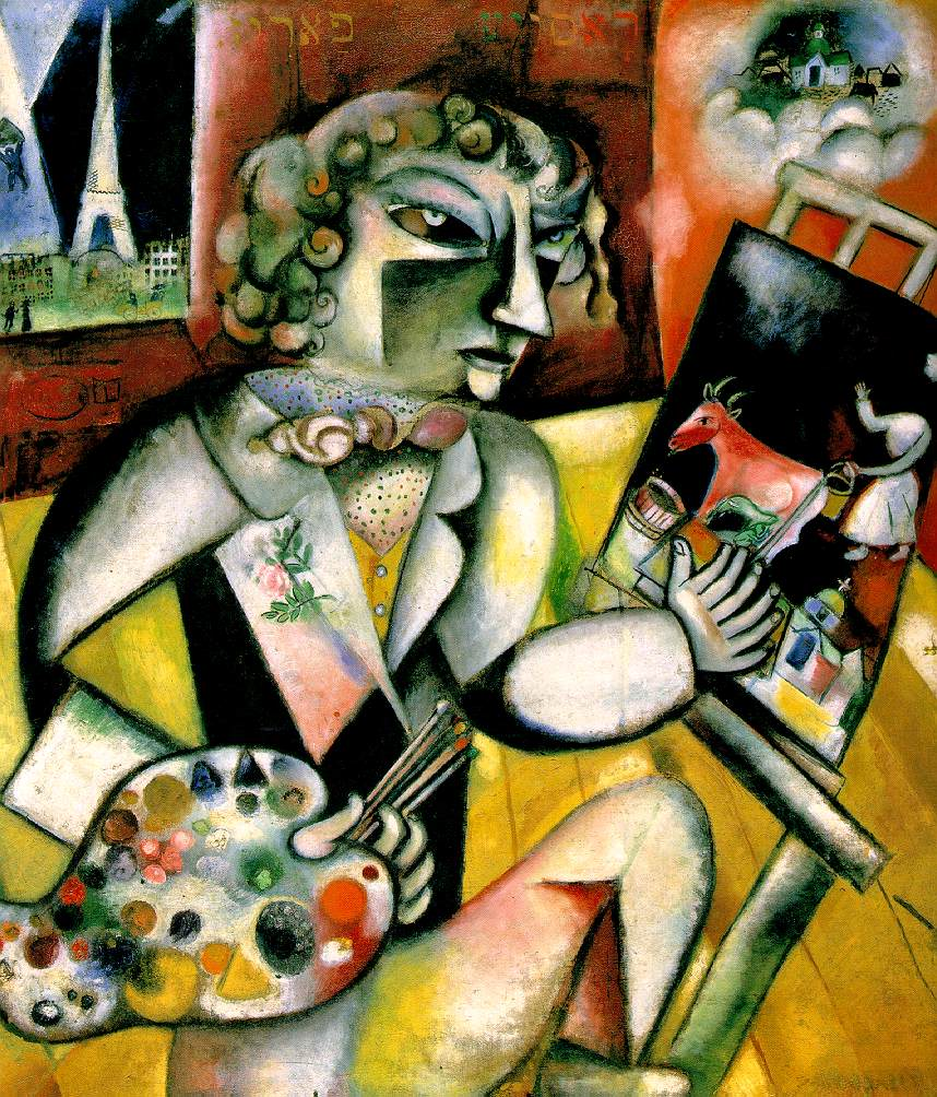 Marc Chagall 1887-1985 7fingers