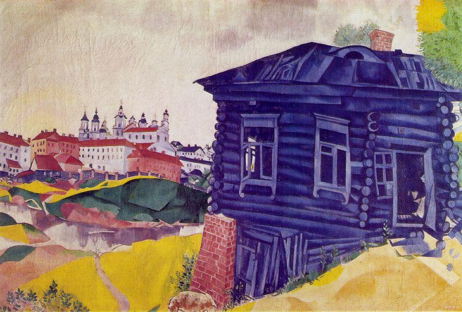 Marc Chagall 1887-1985 Chagall_blue_house