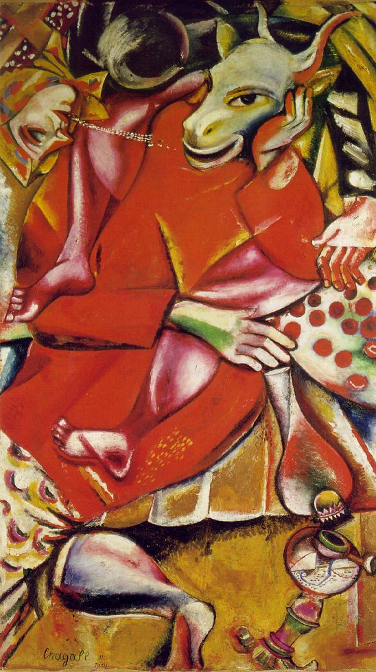 Marc Chagall 1887-1985 Chagall_fiancee