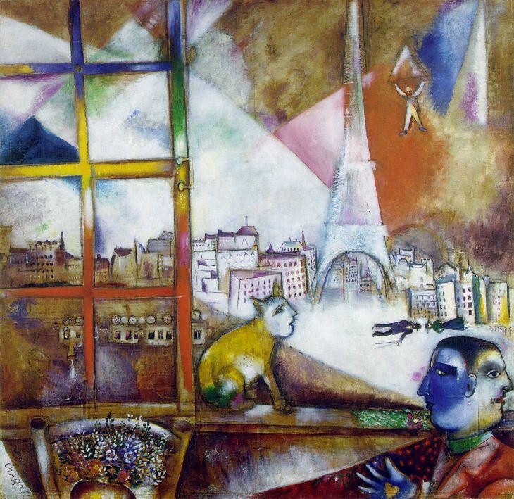 Marc Chagall 1887-1985 Chagall_paris