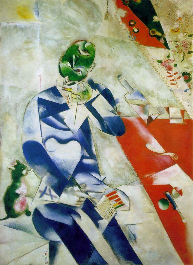 Marc Chagall 1887-1985 Chagall_poet