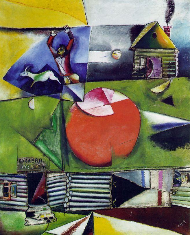 Marc Chagall 1887-1985 Chagall_village