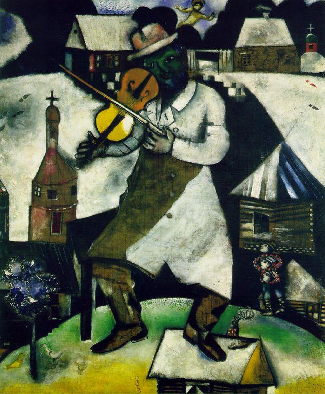 Marc Chagall 1887-1985 Chagall_violinist2