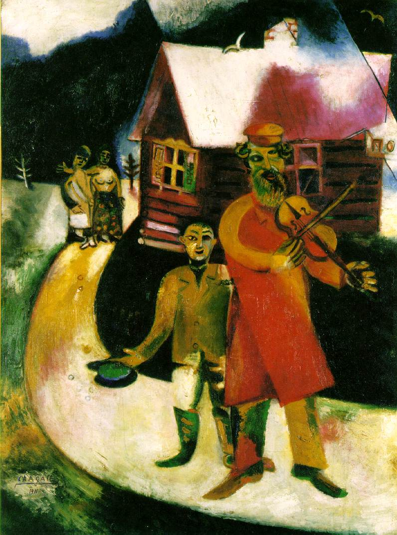 Marc Chagall 1887-1985 Violinst