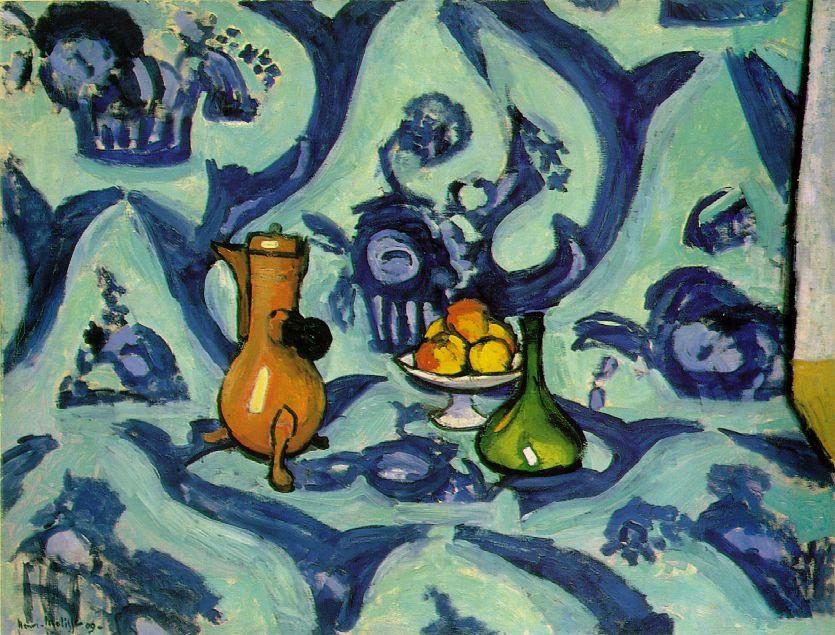 Mes natures mortes préférées Matisse_tablecloth