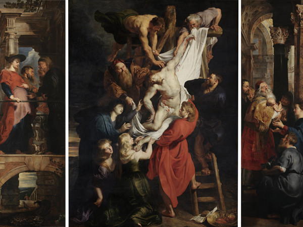 La deposizione dalla croce. Rosso Fiorentino e altri artisti. 76195-2_Peter_Paul_Rubens_-_Descent_from_the_Cross_-_WGA20212
