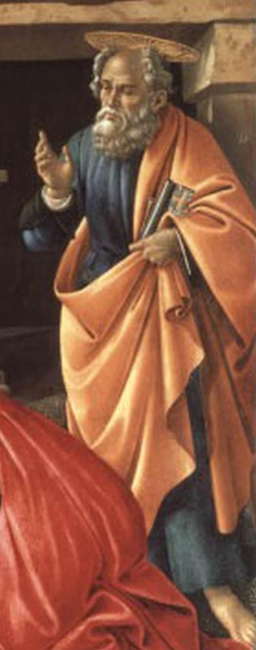 """""""Cattedra di San Pietro"""" 1_botticelli"""