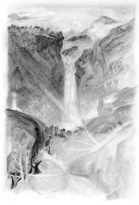 خطوه بخطوه ..... الرسم بالرصاص How-to-draw-landscapes2