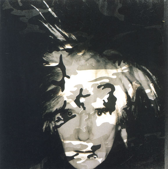 Camouflage Art - Page 3 AndyWarhol-Camouflage-Self-Portrait-1986