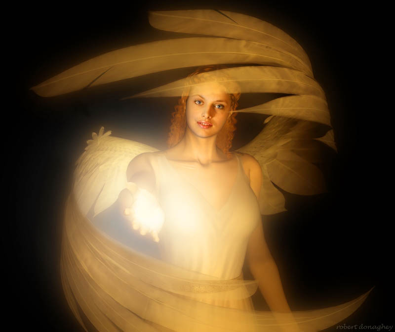 IMAGES TO NOURISH THE SPIRIT AND TOUCH THE HEART Angel(experement)