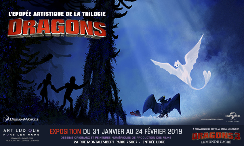 Dragons 3 : Le Monde Caché [DreamWorks - 2019] - Page 6 Home1