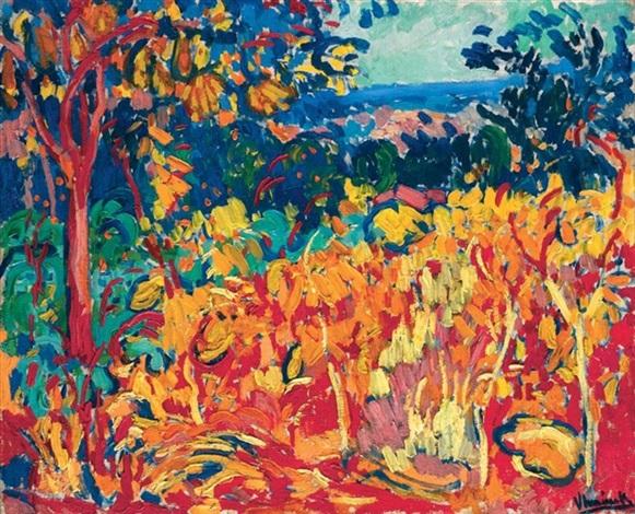 Paul Cézanne Maurice-de-vlaminck-le-verger