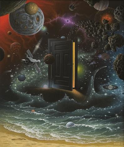 Философия в картинках - Страница 38 Jacek-yerka-at-the-edge-of-space