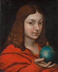 Warning For Religious People   Jan-matsys-(massys)-youth-with-a-cross-bearing-orb-(globus-cruciger)