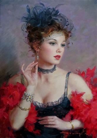 Elle - Paul Gérardy Konstantin-razumov-le-boa-rouge