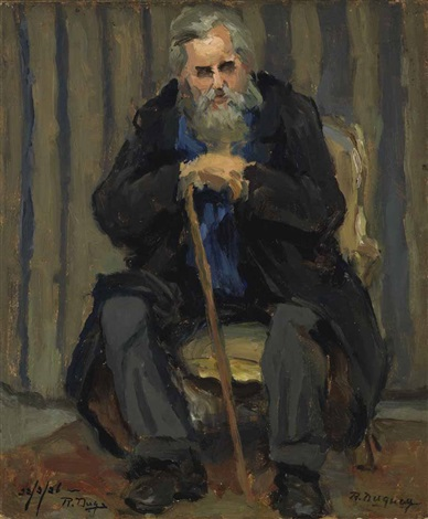 Ma vieille canne - Maurice Rollinat Rodolphe-duguay-vieux-personnage-a-la-canne