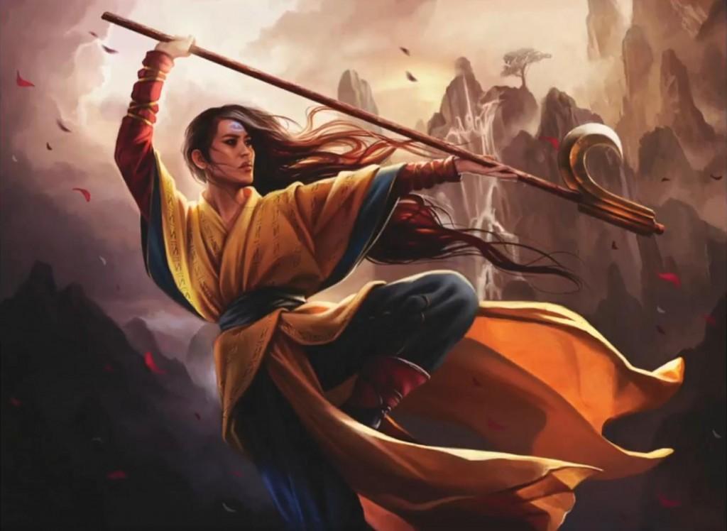 Magali Villeneuve, sans doute une nouvelle venue dans L5r Narset-Enlightened-Master-Dragons-of-Tarkir-MtG-Art-1024x748