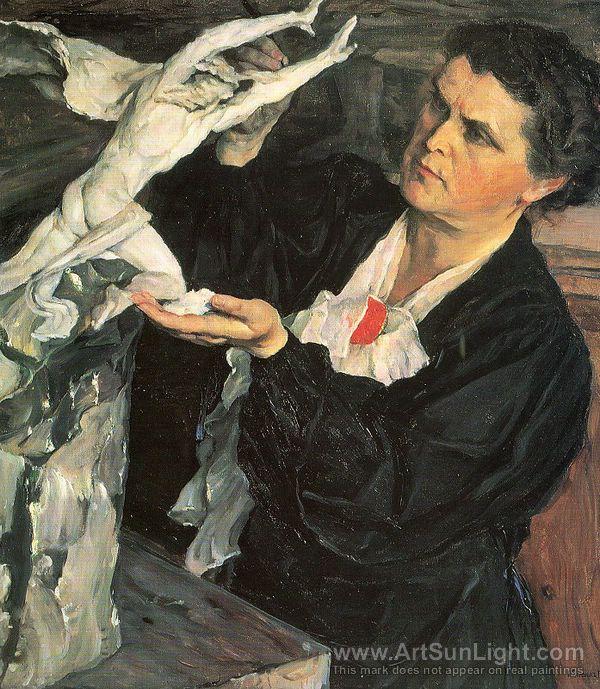 Mikhail Nesterov N-N0006-0022-portrait-of-vera-mukhina