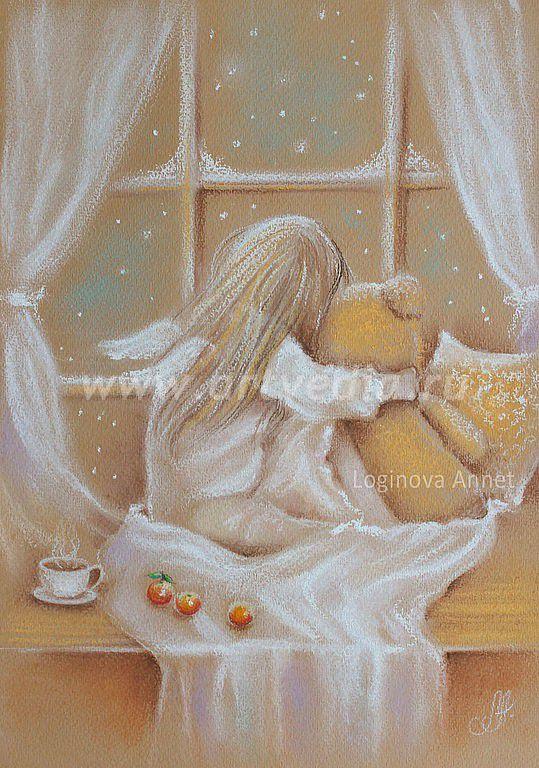 Рисунок пастелью F0_324552996
