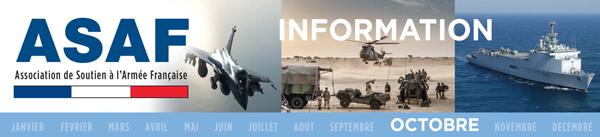 ASAF: Lettre d'information - octobre 2018 - Les politiques, l'Etat et l'armée Bandeau_Octobre