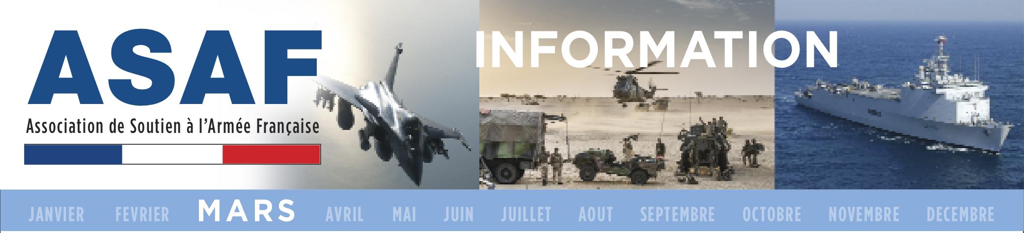 ASAF: Lettre d'information - MARS 2018 Information_Mars