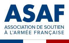 L'ASAF est heureuse de vous annoncer la mise en ligne de son nouveau site internet www.asafrance.fr Logo