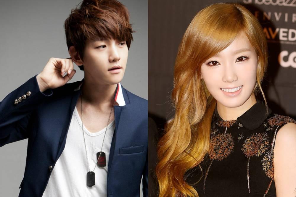 تايون من فرقة السنسد تواعد بيكهيون من فرقة الاكسو  EXO-Baekhyun-Girls-Generation-Taeyeon_1403151181_af_org