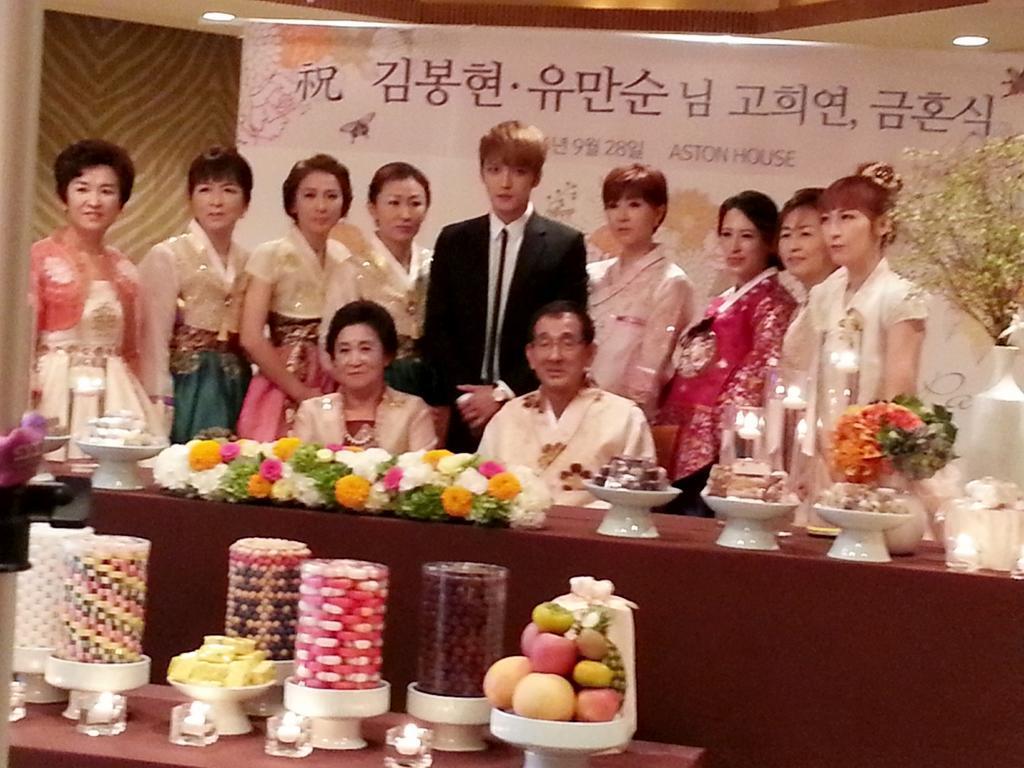 جيجونغ احتفل بعيد ميلاد والديه الـ ٧٠ بحضور صديقيه يوتشون و جونسو نشرت بواسطة:Masa Jaejoong-parents-birthday-2