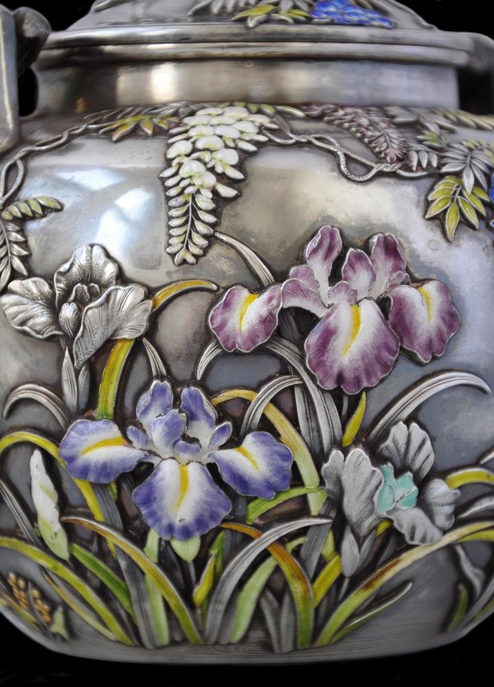 Cloisonne - tehnika dekoracije emajla - Page 3 Japanese_Enamel_Silver_Teaset_%2812%29_%28719x1000%29