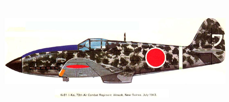 Mansyu Ki-98 Fighter (1/72, MENG)  - Page 3 Artwork-Tony-Ki-61-I-78-Sentai-Wewak-New-Guinea-July-1943-0A