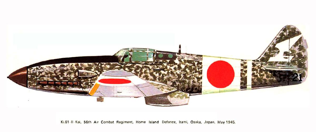 Mansyu Ki-98 Fighter (1/72, MENG)  - Page 3 Artwork-Tony-Ki-61-II-Kai-56-Sentai-black-21-Itami-Osaka-Japan-May-1945-0A