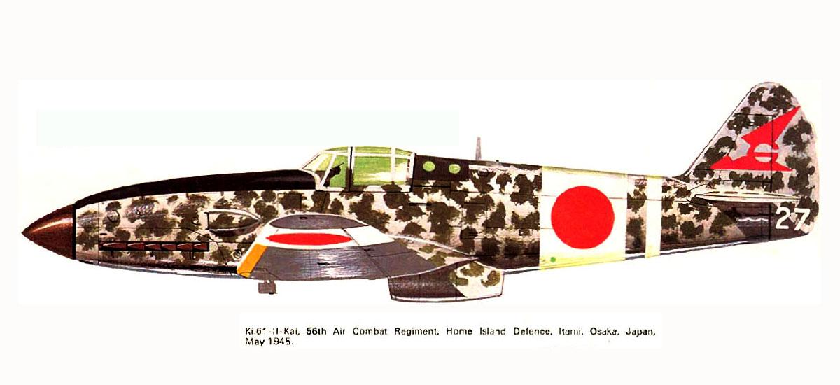 Mansyu Ki-98 Fighter (1/72, MENG)  - Page 3 Artwork-Tony-Ki-61-II-Kai-56-Sentai-white-27-Itami-Osaka-Japan-May-1945-0A