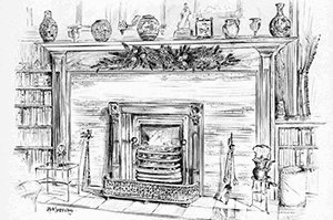 What a Prepper Should Do Around The House Fireplace