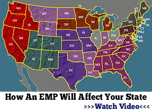 What a Prepper Should Do Around The House Emp-map-blackout