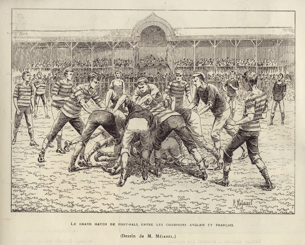 Archives : histoire du Stade Français Paris 1892-StadeFrancais-RosslynPark