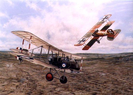 Lanoe Hawker, un AS bajado del cielo Richtofen%20hawker