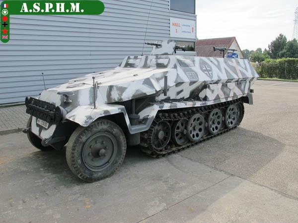 SdKfz 251/1 Hanomag Ausf. c . SDKFZ241-1