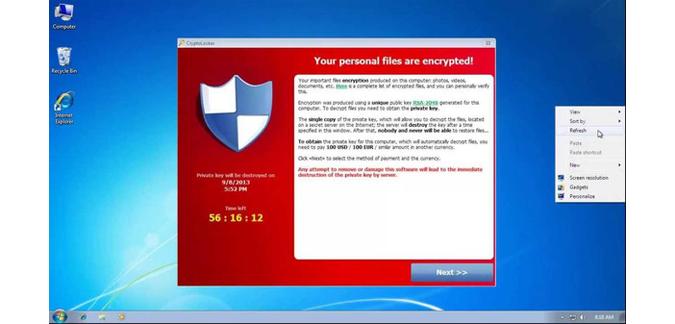 فيروس جديد يخطف ملفات الكمبيوتر ويطلب ثمناً لإعادتها 17072014_virus