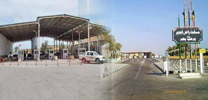 تونس:غلق الحدود البرية مع ليبيا 3 أيام 23102014_jdir