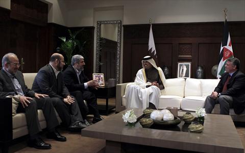 بلصور  لقاء الملك مع قيادات حماس في الاردن 4-OIVAQA55-29012012090145