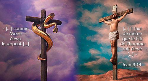 La Bonne Nouvelle du Christ annoncée à tous les Peuples. - Page 23 Aucoeurduvivant_croix_serpent_cuivre_elan_sarro