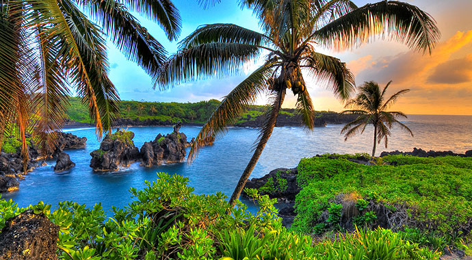 Quero entender melhor, mais a fundo, o Ho'ponopono 690x380-Hawaii-Sunset