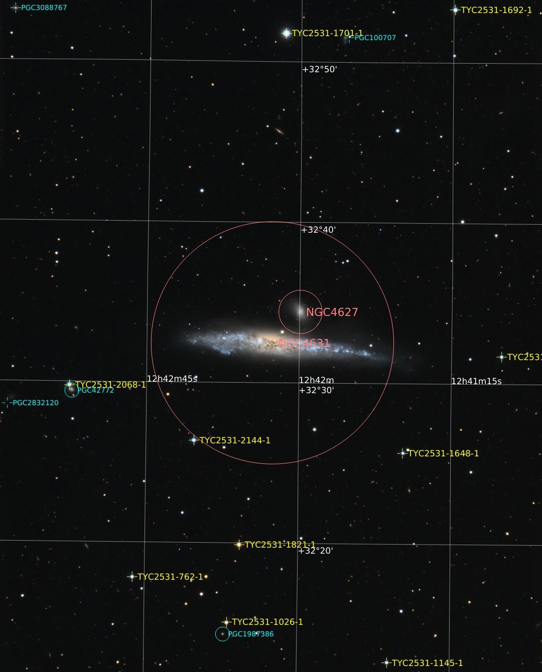 La Baleine NGC4631 71_1524254895NGC4631-coul-iris-Annotated