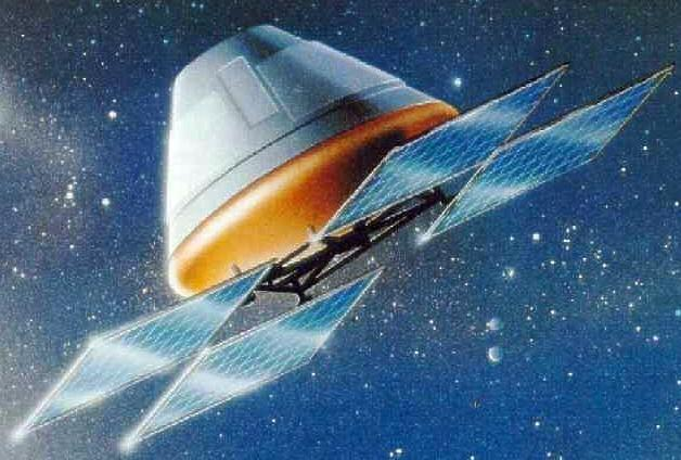 ESA - Carina microgravity capsule  Carina