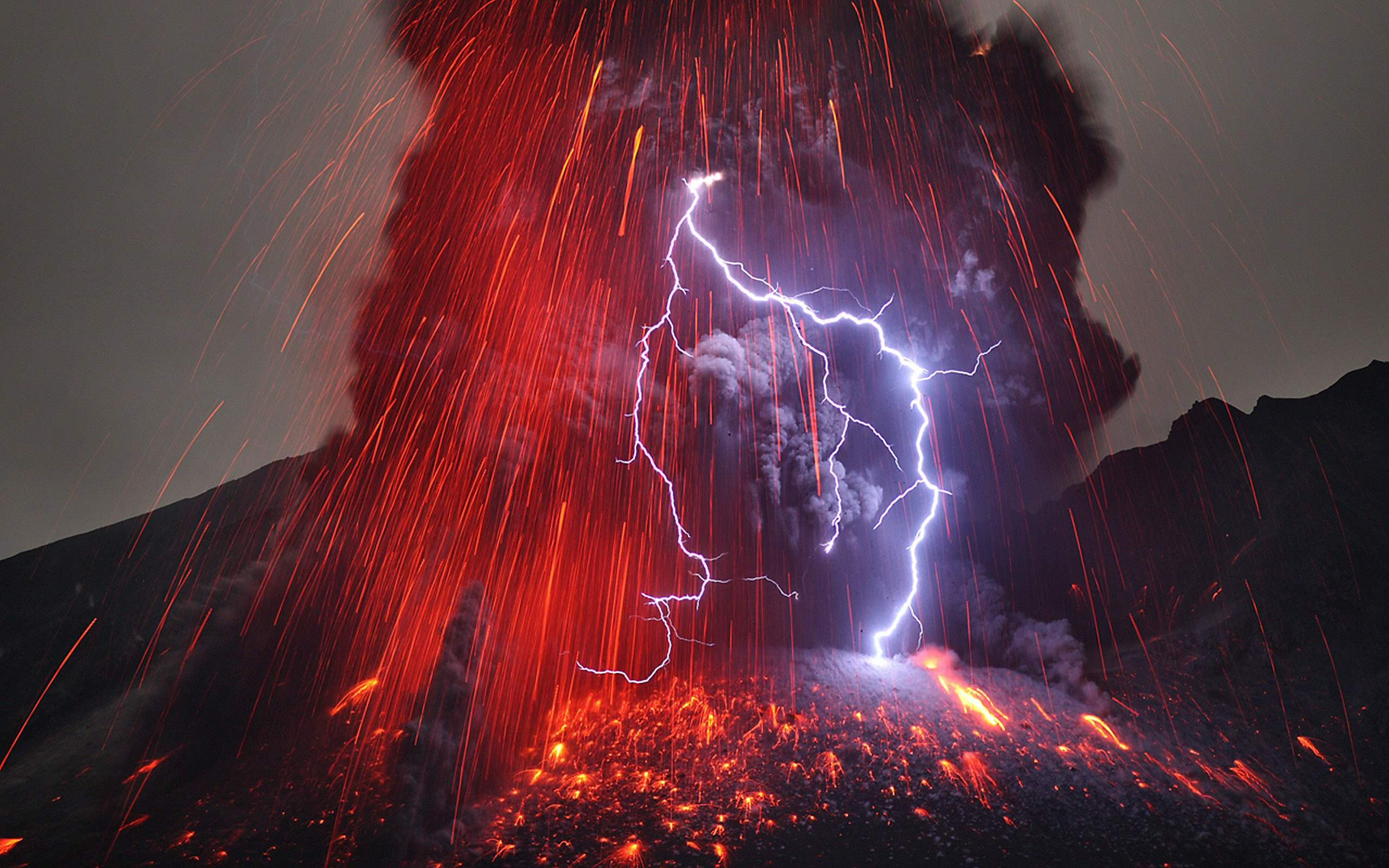Rayos en las erupciones volcánicas Volcan-reitze-lupa