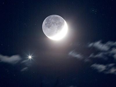 POEMAS SIDERALES ( Sol, Luna, Estrellas, Tierra, Naturaleza, Galaxias...) - Página 15 Venus_Moon
